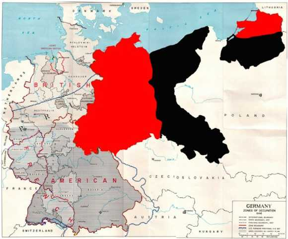 Спорные территории германии