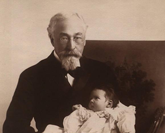Симон Барух с сыном