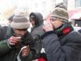 В Витебске бездомным наливают горячий чай и раздают теплые носки