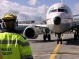 Аэропорт Франкфурта-на-Майне работает с серьёзными перебоями