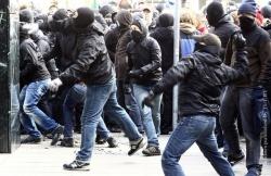Акция протеста в Германии: ранены 15 человек, около 500 арестованы