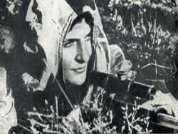 Советский снайпер против Вермахта
