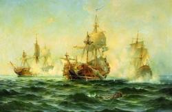 Как царь Петр Великий строил российский флот