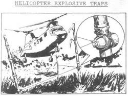 Тоннели и ловушки вьетнамских партизан.