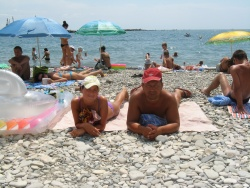 Незабываемый летний отпуск с дочкой в 2009 в Туапсе.