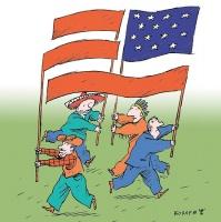 В 17-ти штатах начался сбор подписей за выход из состава США