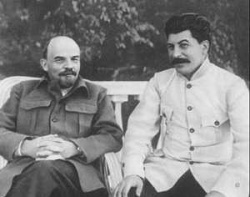 Ленин и Сталин в истории