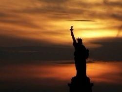 Cтатуя свободы - богиня тьмы