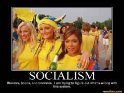 Западный либеральный социализм - имитация социализма