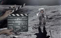 Американцы высаживаются на луне