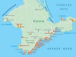 В Беловежской Пуще.Кравчук  Ельцину: «А как с Крымом будем поступать?».Ельцин: «Да забирай»