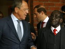 Мугабе, опять обидел Обаму