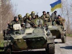 Укрофашисты пытаются прорваться к Донецку