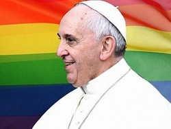 Папа римский похвалил лесбиянку