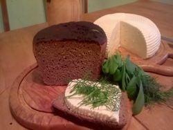 Хлеб, сыр и здоровая жизнь