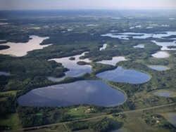 Три крупнейших озера Беларуси