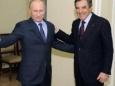 Владимир Путин побеждает на выборах во Франции