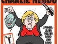 Charlie Hebdo вышел с карикатурой Меркель на обложке
