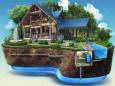 Варианты автономного отопления деревянного дома