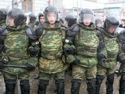 В Москву введены внутренние войска