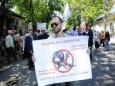В Кишиневе верующие снова сорвали марш содомитов