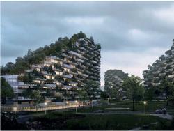 В Китае строят уникальный город-лес