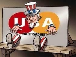 Долги американцев по кредиткам оказались рекордными