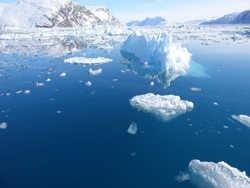 В ледяном щите Антарктиды возникла гигантская полынья