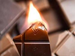 Огнеопасный неопасный шоколад