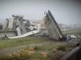 В Генуе, Италия обрушился мост