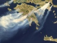 Лесные пожары в Греции привели к жертвам