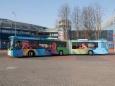 МАЗ выпустил автобус-гармошку с толкающим приводом