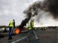 Демонстрантов в Париже разгоняли слезоточивым газом