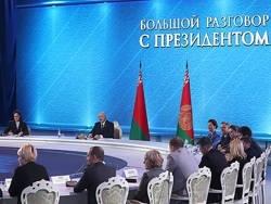 """""""Большой разговор"""" с Александром Лукашенко"""