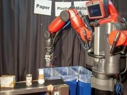 Изобретен робот для сортировки мусора