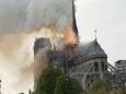 В Париже горит собор Нотр-Дам-де-Пари
