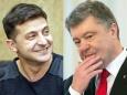 Экзитпол: Зеленский набирает почти 76%, Порошенко — 24%