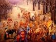Геноцид индейцев при строительстве первой дороги