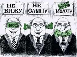 Кто переносит коррупцию в Беларусь