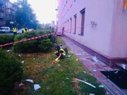 Здание телеканала «112 Украина» обстреляли из гранатомета