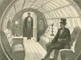 Подземный тоннель для пневматических поездов