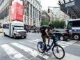 Велосипедисты Нью-Йорка стали большой угрозой