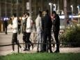 Беженцы захватили парк в Лейпциге