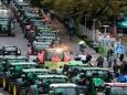 Фермеры парализовали города Германии