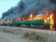От взрыва газовой горелки в поезде погибли больше полсотни людей