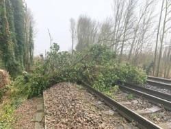 На Британию обрушился мощный ураган «Сиара»