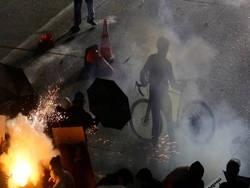 Протестующие захватили территорию на Капитолийском холме