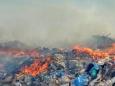 Полигон с промышленными отходами загорелся в Норильске