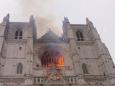 Во Франции горит собор Святых Петра и Павла