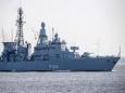 Немцы решили припугнуть китайский флот своим фрегатом